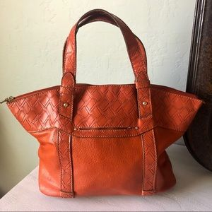 🍂🌻🍁Relic Burnt Orange Satchel Purse